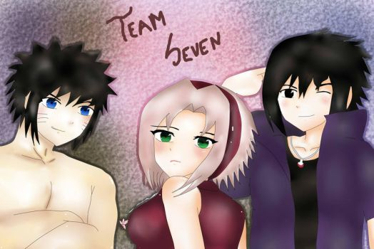 Team Seven Road to Ninja by Bel26Liz2