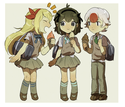 MS: Middle school AU by chewypickles