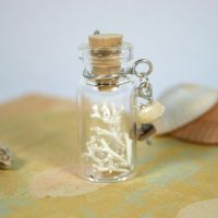 Filigree Coral Bottle by GeneveveX