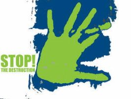 STOP the destruction by environment