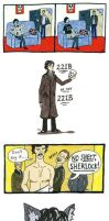 Super Mega Sherlockomics Party by Madelei