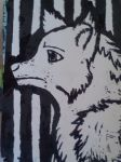 [Art Project] Wolf Stamp Print Out 2/2 by LivyWolf