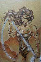 Wonder Woman by CristianaLeone
