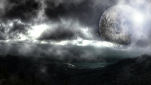 Dark Spacescape Wallpaper by John-Boyer