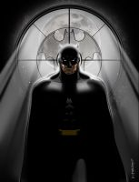 Serious Batman by MichaelCrutchfield