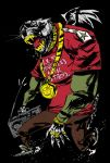 Funky Hellhound T-Shirt Design by JimMahfood-FoodOne