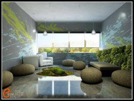 Interior Office V5 by cuanz