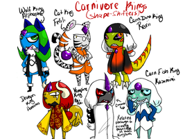 Carnivore Kings by TaiitheDecepticaon