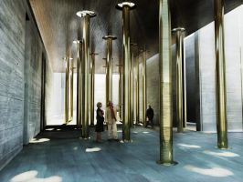 Bath Crematorium vestibule by kropped