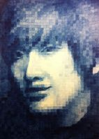 Jung Yonghwa (Watercolor) by aiken-L