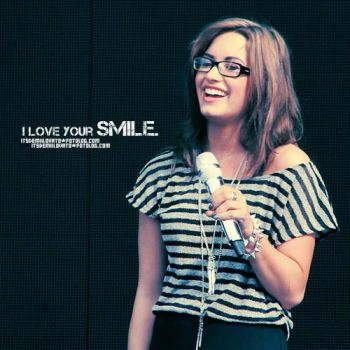 I love your smile. by rockoutwithddl
