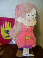 Mabel cutout by AJLeefan4life