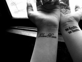 Wrist tattoos by KaitlinMoran