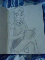 Isabelle anthro style test drawing by manfartwish