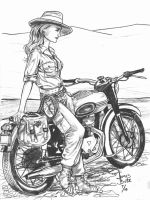 Lady Indy by Jimmy-B-Deviant