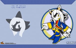 Sonic Channel '13: Lil the Cat by Fuzon-S