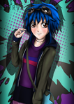 Ramona Flowers (Blue) by RissyHorrorx