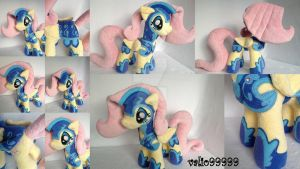 Fluttershy MLP Friendship is Magic plush by valio99999