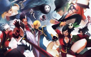 BlazBlue inside cover PS3 by Noe-Leyva
