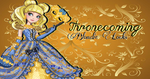Ever After High Thronecoming Blondie Locks Wall by Wizplace