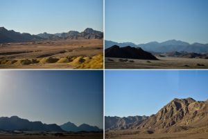 Desert mountains by Vecordio