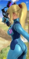 Samus's booty - may the junk fill her trunk! by ShadowLord69
