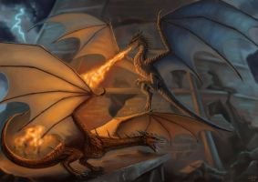 Wyverns Conquerors Commission by x-Celebril-x