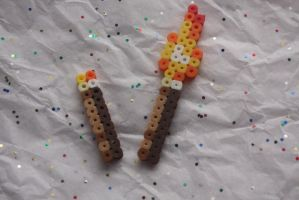 Minecraft Torches by Puppylover5