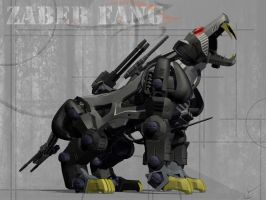 Zoid ::Zaber Fang:: by Sthap