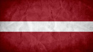 Latvia Grunge Flag by SyNDiKaTa-NP