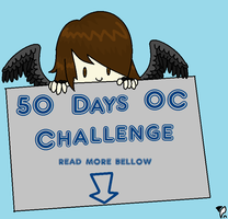 """50 Days OC Challenge - """"Challenge Accepted&qu by yumpoleon"""