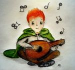 Kvothe the musician by neverthoughtabout