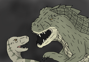 The Croc Hunt's by TheSpiderAdventurer