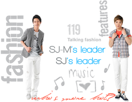 super junior leaders by GaaraGeyGey