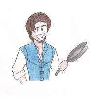 Cartoony Flynn Rider by MdeLucena