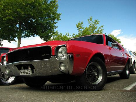 red amc amx by AmericanMuscle