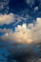 Clouds Over Power Lines by amm081