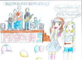 Happy Birthday Kumi by CiliaCC