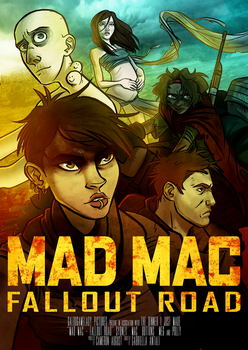 Mad Mac - Fallout Road by GalooGameLady