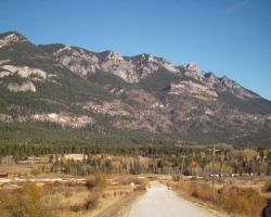 Brisco Kootenay Rockies by Lancerlover