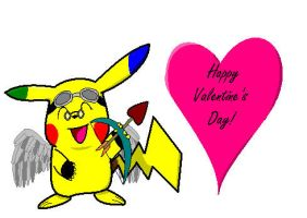 My School Valentine colored by Baylor-The-Pikachu