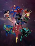 Justice-League Founding Members by dlee1293847