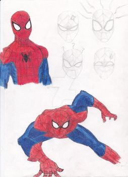 Spider-man Sketches by Linklover54