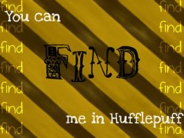 Find me in Hufflepuff by LuminousLuck