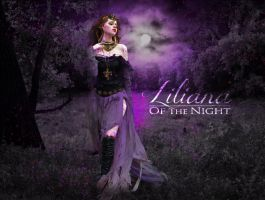Liliana Of The Night by Eldunayri