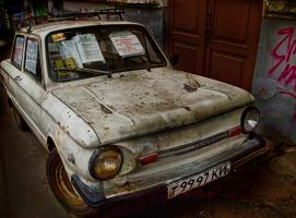 Old car 1 by bulgphoto