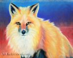 Pastel Fox by Sheltie2b