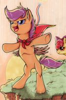 I'll try! - Scootaloo by yellowrobin
