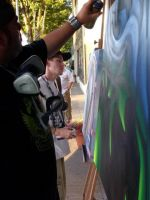 Live Paint by KujoRock