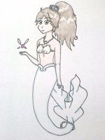 Chantelle's New Fin by Punisher2006